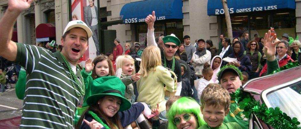 St Patrick's Day Parade - San Francisco
